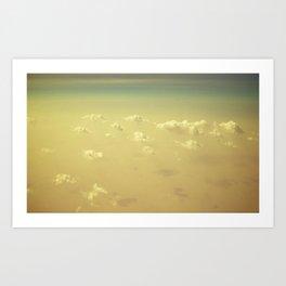 Clouds of Dubai Art Print