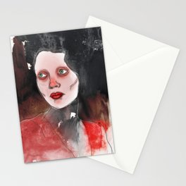 A Touch of Red (study) Stationery Cards