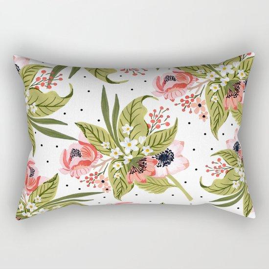 Flowers bouquet #15 Rectangular Pillow