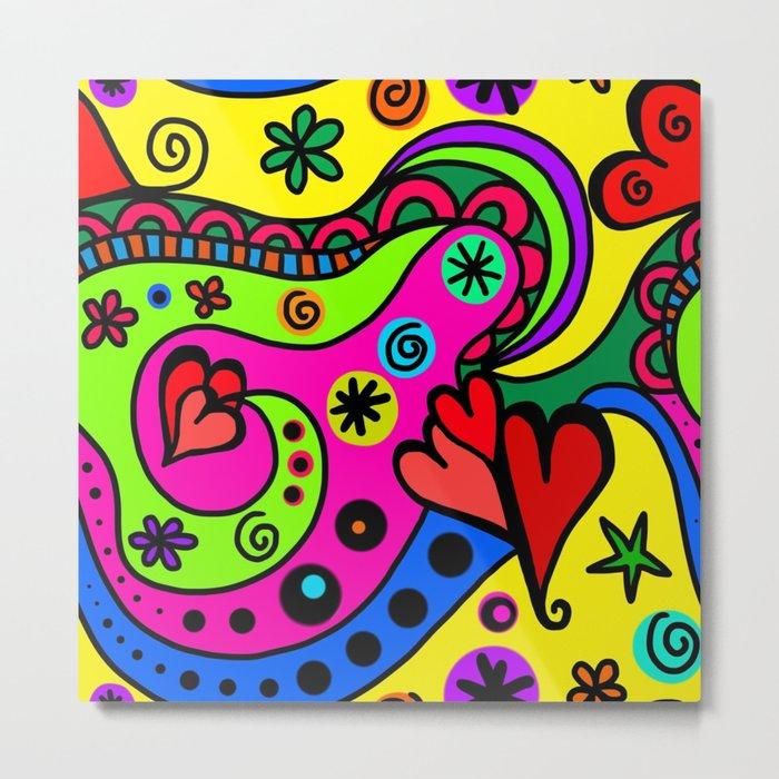 Bright colors Metal Print