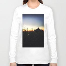 Lighthouse at Sunset Long Sleeve T-shirt