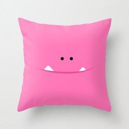 "Brillo ""El Monstrillo"" Throw Pillow"
