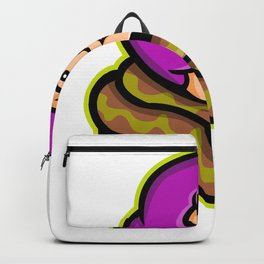 Circus Freak Snake Lady Mascot Backpack