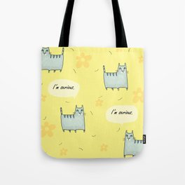 Why So Serious....Cat Tote Bag