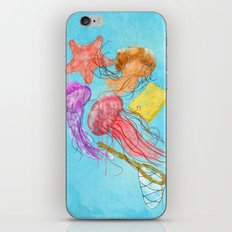 Realism on Jellyfish Fields iPhone Skin