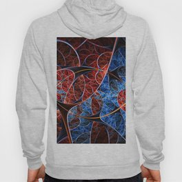 fractals abstact flowers artwork floral patterns neon art abstract floral backgrounds creative fract Hoody