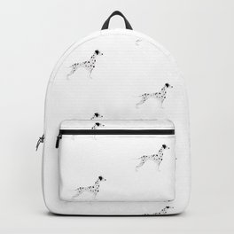 DALMATIANS ((white)) Backpack