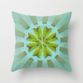 Tronk Peeled Flower  ID:16165-022118-01940 Throw Pillow