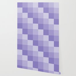 Four Shades of Lavender Square Wallpaper