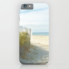 Sandy Beach, Ocean, and Dunes Slim Case iPhone 6