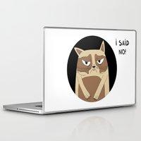 grumpy Laptop & iPad Skins featuring Grumpy by Adrian Serghie