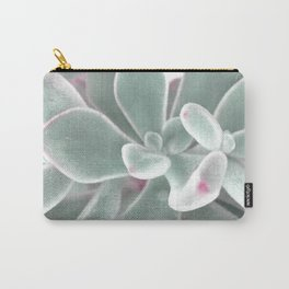 plants succulents and velvet Carry-All Pouch