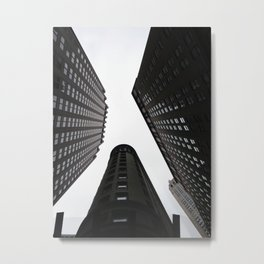The up of Downtown Metal Print