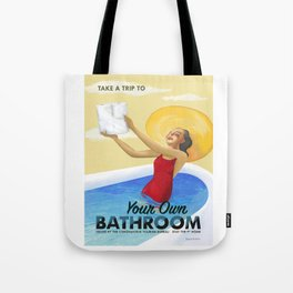 Your Own Bathroom Tote Bag