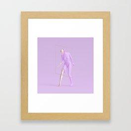 /awereness Framed Art Print