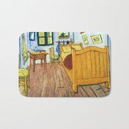 Vincent Van Gogh Bedroom in Arles Bath Mat