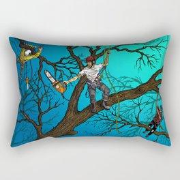 Tree Surgeons Rectangular Pillow