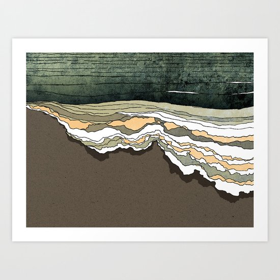 Breakthrough Art Print