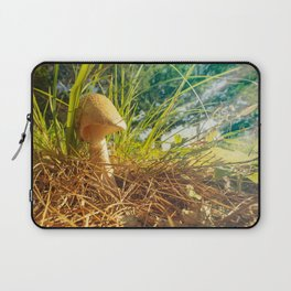 Magic Mushroom  Morning Laptop Sleeve