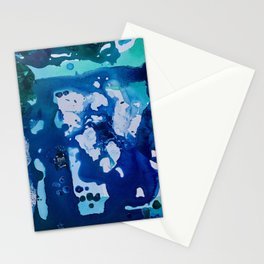 Orca Whale Marvels at the Melting Ice, Environmental # 4 Stationery Cards