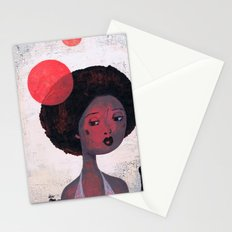 AFRO PSYCHE Stationery Cards