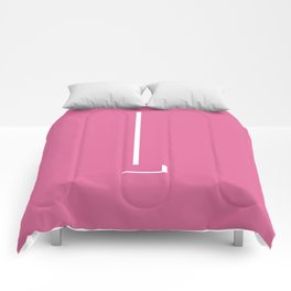 The Letter L Comforters