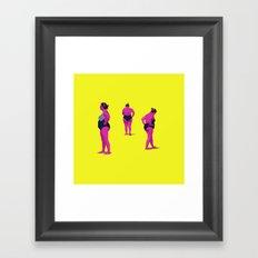 Mujer maravilla Framed Art Print