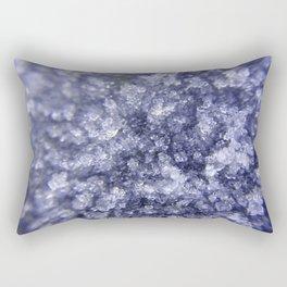 Blue Diamond Rectangular Pillow