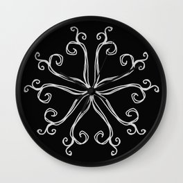 Five Pointed Star Series #10 Wall Clock