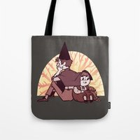 over the garden wall Tote Bags featuring Over the Garden Wall by SIINS