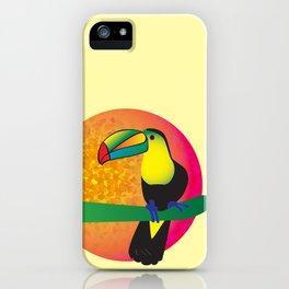 Toucan -Yellow iPhone Case