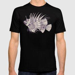 fish mirage berry T-shirt
