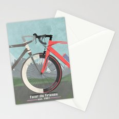 Tour De France Bicycle Stationery Cards