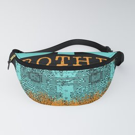 Big Brother Of Twins Siblings Family Fanny Pack