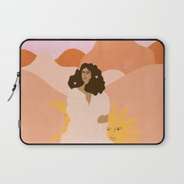 Don't look back in sadness Laptop Sleeve