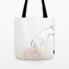 Picking up my pieces Tote Bag