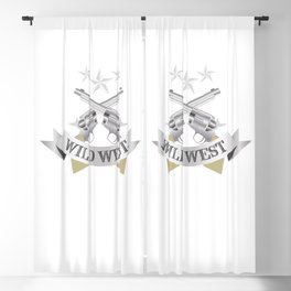 Wild West Blackout Curtain