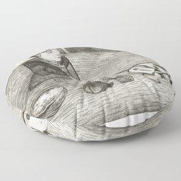 Base (Sparus Sargus) from Ichtylogie ou Histoire naturelle generale et particuliere des poissons (17 Floor Pillow