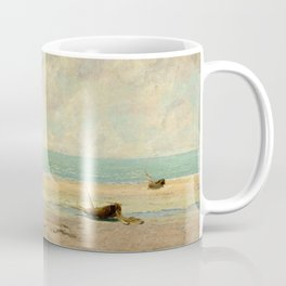 The Calm Sea - Gustave Courbet Coffee Mug