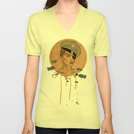 The Steam Captain  Unisex V-Neck