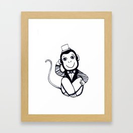 Lil Monkey Framed Art Print