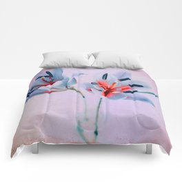 The flowers of my world Comforters