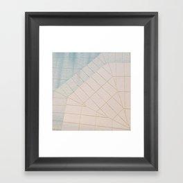 Swimming Pool II Framed Art Print