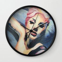 LadyGaga takes a Selfie Wall Clock