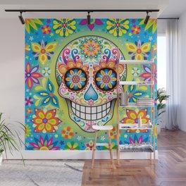 Sugar Skull Art (Jubilee) Wall Mural