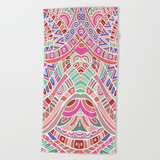 Multicultural variation Beach Towel