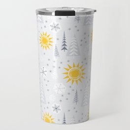 Winter Sunshine Travel Mug