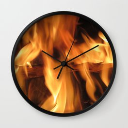 Fireplace Wall Clock