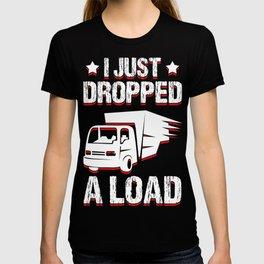 trucker gift truck long-distance truck lorry truck T-shirt