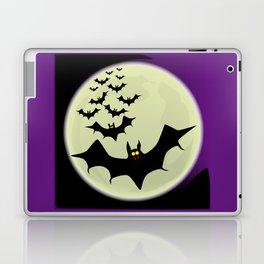 Bats and Moon Laptop & iPad Skin
